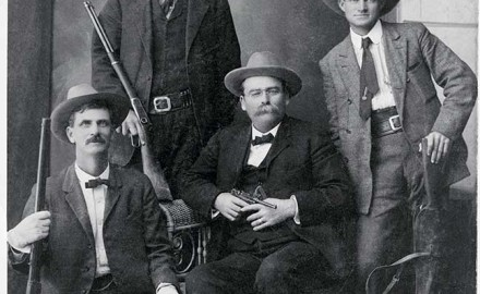 A young Frank Hamer — the legendary lawman who helped bring down the notorious Bonnie and Clyde