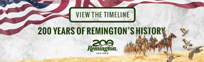 remington anniversary