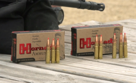 Craig Boddington talks with Hornady's Neal Emery about their new .300 Blackout loads.