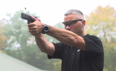 James Tarr talks with SIG about their P320 Series of handguns.