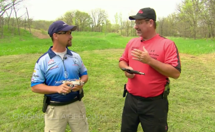 Pro shooters Doug Koenig and Rob Leatham discuss their preferences for 1911's in competition