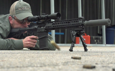 Tom Beckstrand talks with the folks at SIG about their new lighter generation 2 716 DMR Rifle.
