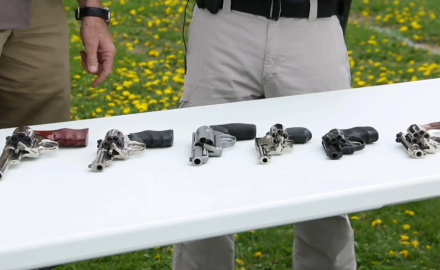 Patrick Sweeney and Jeff Chudwin discuss the various lengths used in revolver barrels.
