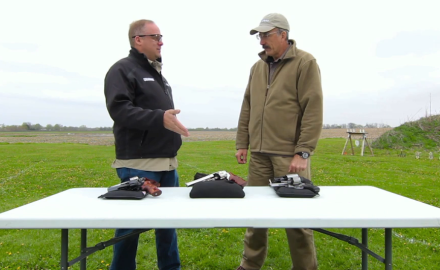 Patrick Sweeney and Eric Poole highlight full-size revolver options for carry.