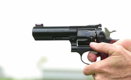 Patrick Sweeney and Eric Poole discuss revolvers that are designed for hunting.