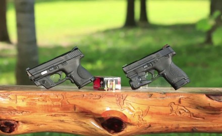 Craig Boddington and Kyle Lamb examine the 9mm Smith & Wesson family of pistols.