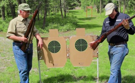 Garry James and Craig Boddington compare two of the great WWII battle rifles, the M1 Garand and the