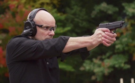 Patrick Sweeney talks with Adam Painchaud of SIG about the updated version of the P225.