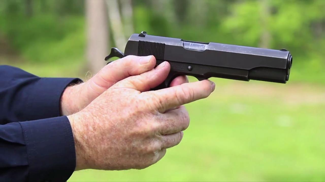 Classic Challenge: Colt 1911A 1 v. Walther P38