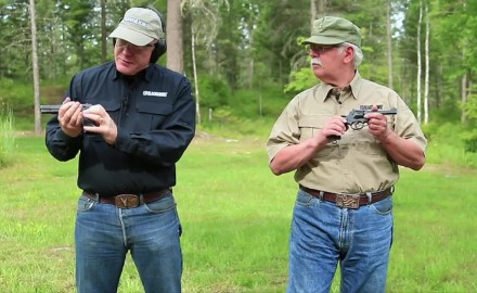 Garry James and Craig Boddington take a look at two classic opposing handguns from WWII.