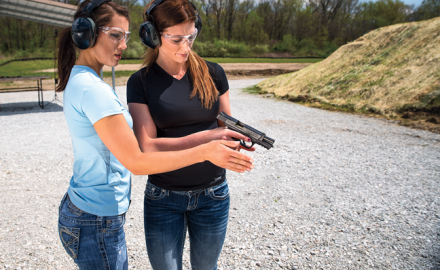 Be aware that certain types of guns and many shooting activities require additional safety precautions.