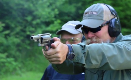 Craig Boddington and Kyle Lamb examine some of the revolvers offered by the Taurus family.