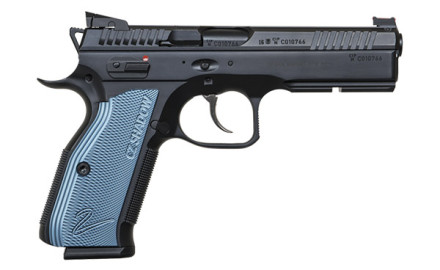 The 9mm CZ Shadow 2 incorporates the best features of the original Shadow and improves on them with