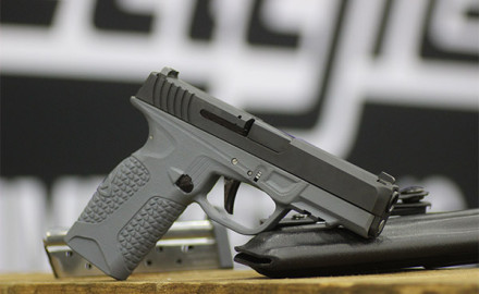 The PD10 is a 9mm polymer-frame DAO striker-fired semiautomatic pistol built for concealed carry.