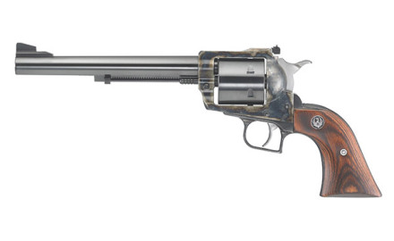 Produced exclusively for TALO Distributors Inc., the Ruger Turnbull Super Blackhawk is chambered in