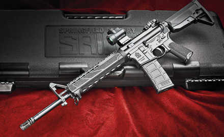 Springfield Armory made its foray into the AR market and announced its AR-15 to a short list of