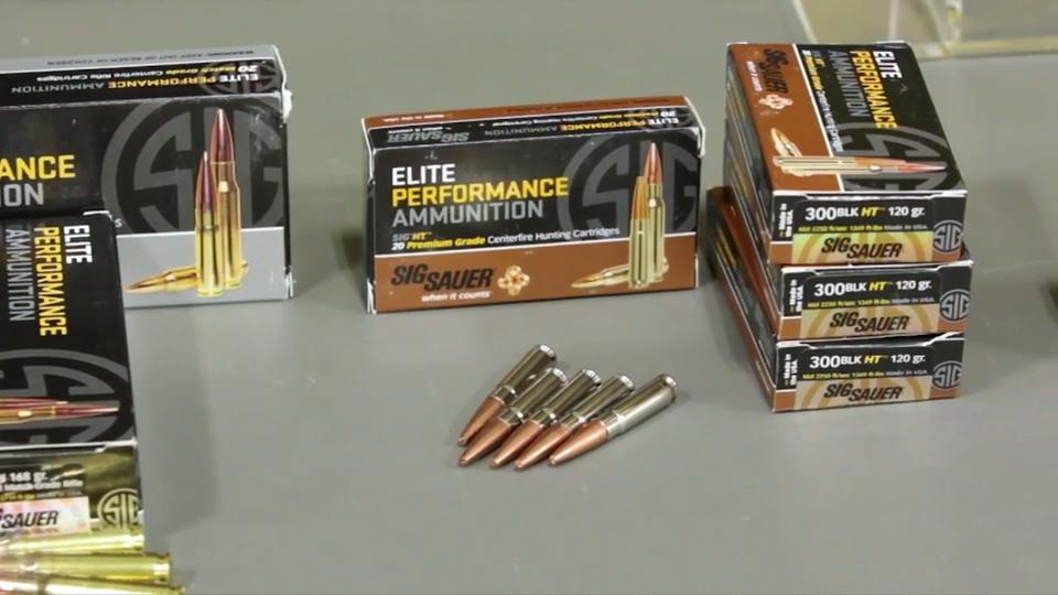 Sig Sauer Elite Performance Rifle Ammo