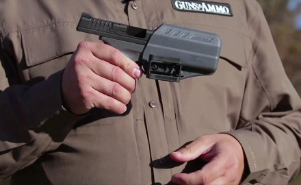 Craig Boddington and Eric Poole are on the range where they evaluate some of the latest holster and