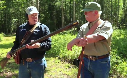 Garry James and Craig Boddington compare and contrast a pair of revolutionary war rifles.