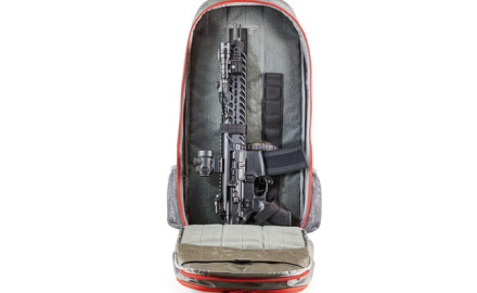 The Covert Operations Rifle Backpack is a normal looking, albeit long, backpack that is designed to carry a rifle and support equipment.