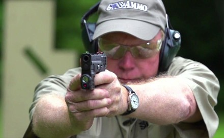 Kyle Lamb and Craig Boddington compare and contrast laser sights versus conventional sights.