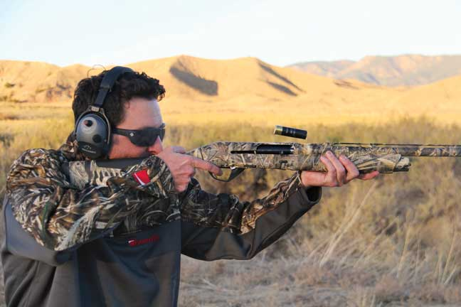 Reduced recoil and the lack of muzzle rise while shooting heavy, magnum loads afforded control for fast follow-up shots.