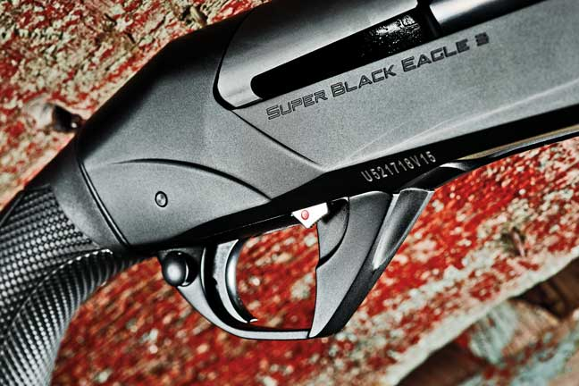 A larger and more accessible triggerguard design and safety layout make using them easier on the waterfowler.