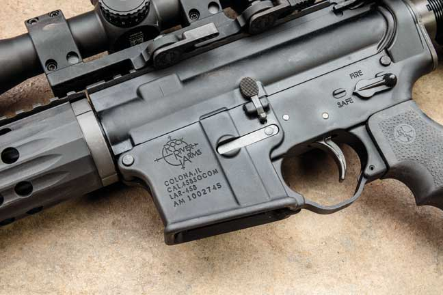 The standard-size LAR-458 receivers are forged, just like most AR-15s.