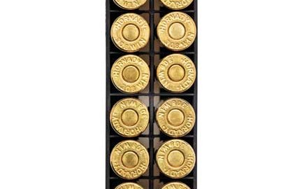 I look at my ammo stash  like my savings account. Both are valuable commodities, so I try not to
