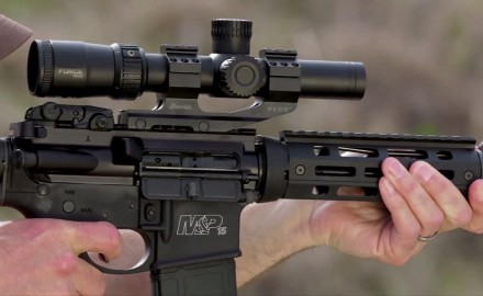 Tom Beckstrand highlights the features of Nikon's new Black Force 1000 riflescope.