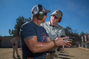 Never stop investing in your proficiency. Even though the author is an accomplished instructor, he trains several times a year at professional facilities such as Gunsite Academy.