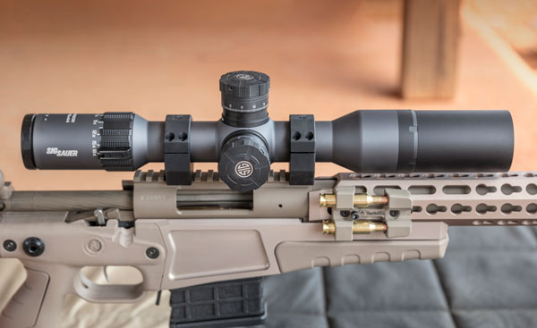 The author conducted his tests of SIG's Tango6 3-18x44 on his 6.5 Creedmoor rifle.