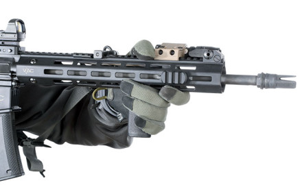 Does a vertical grip on a tactical rifle outrun the negatives?