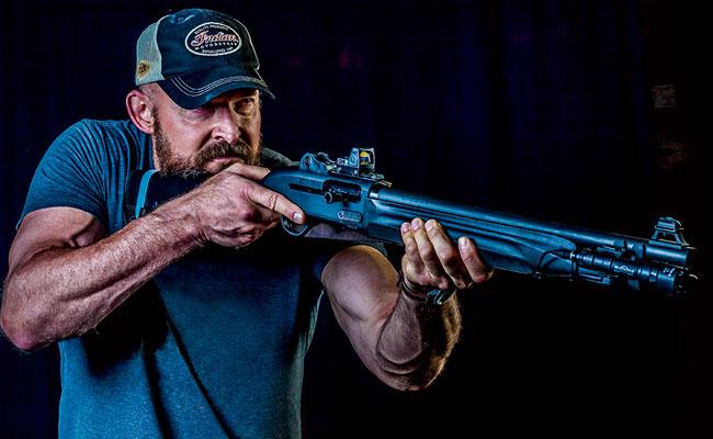 Shooting The Beretta 1301 Tactical Shotgun