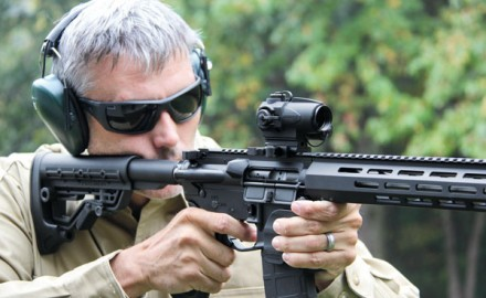 Sightmark's Wolverine CSR 1x23 Red-Dot Scope is proof that inexpensive optics don't have to be
