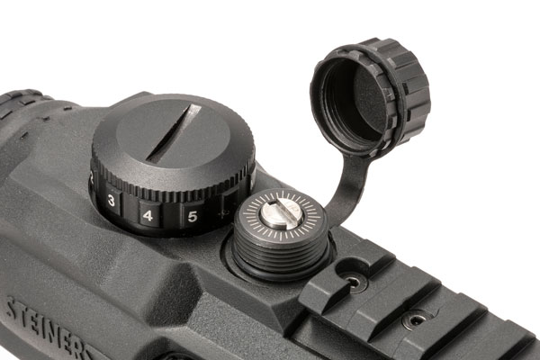 These scopes are totally waterproof and submersible to 10 meters. Elevation and windage adjustments provide 50 MOA of adjustment and are O-ring sealed while the integrated Picatinny rail allows you to mount a back-up red-dot sight for close-quarters work.
