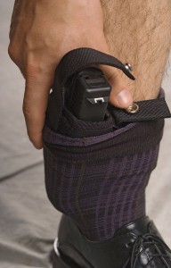 Thumbbreaks or some type of retention strap afford more security. A good three-finger grip is obtained as the thumb is driven between the snap.