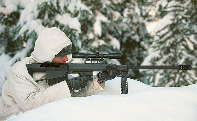 Since their introduction, Barrett's Model 95 has been adopted by military forces and LE agencies around the world including Austria, Jordan, Malaysia, and Spain.