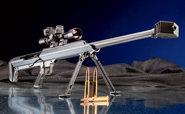 Affectionaly nicknamed the Big Shot, the Model 99 is available in several variations in either .50 BMG or .416 Barrett.