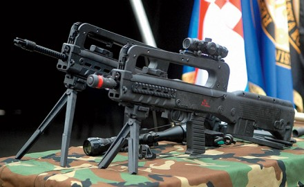 The Croatian VHS bullpup comes in two flavors: the full-length VHS-D or the carbine-length VHS-K.