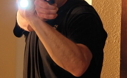 The confusion between self-defense and duty-oriented methods exists in many areas of firearms training, especially in the area of low-light tactics.
