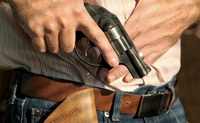 Home Defense: Ruger LCR  38 Special