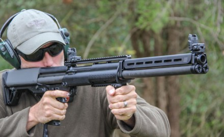 While it's probably not a shotgun you'll go pheasant hunting with, the KSG-25 is perfect for home defense offering massive firepower. It's also fun to shoot.