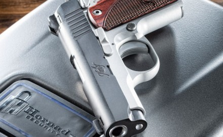 Kimber's New Micro 9 is a 1911-style defensive pistol that is easy to carry and delivers terminal performance