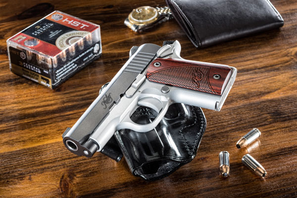 Kimber's new Micro 9 is a 9mm chambered, 1911-style pistol that's the size you'd expect from a .380 ACP-caliber pistol.