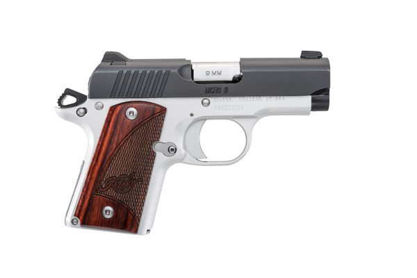 Model 1911s are known for fitting average-sized hands well. At just over 4 inches tall and a hair over an inch wide, the Micro 9 offers the same comfort to shooters with smaller hands. Controls are easily accessible.