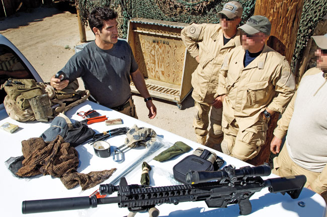 Loadout: The Gear in One U S  Navy SEAL Sniper Kit