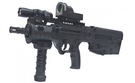 The Israelis were looking for a new assault rifle, and after extensive testing, they  chose the TAR-21, which stands for Tavor Assault Rifle—21st century.