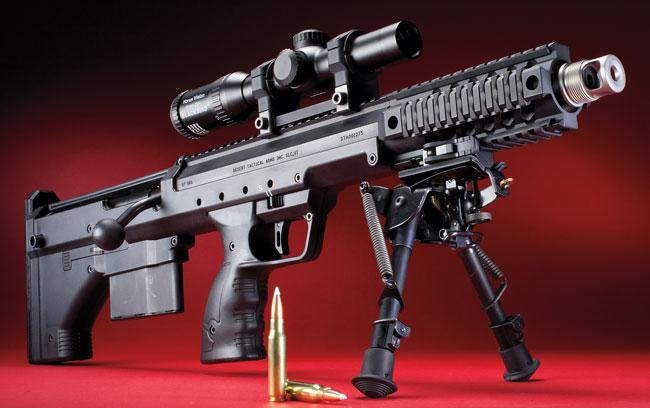 Desert Tech Covert Shortest 7 62 Sniper Ever