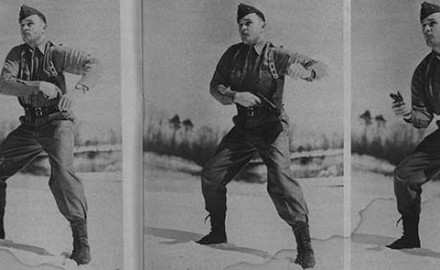 "Just as Jeff Cooper was conducting his third Leatherslap match he wrote ""Gunslinging,"" his first article for Guns & Ammo in the magazine's very first issue."